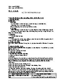 Giáo án Hóa học 12 - Tiết 37+38, Bài 20: Sự ă