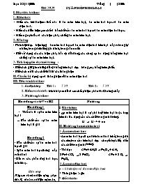 Giáo án Hóa học 12 - Tiết 38+39: Sự ăn mòn ki