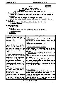 Giáo án Sinh học 12 cơ bản - Nguyễn Đức Hải