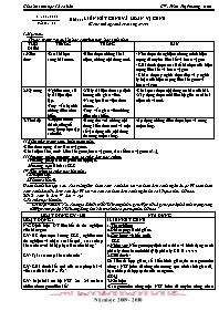 Giáo án Sinh học 12 - Tiết 11, Bài 11: Liên k