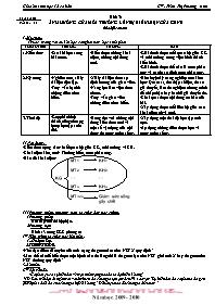 Giáo án Sinh học 12 - Tiết 13, Bài 13: Ảnh hư