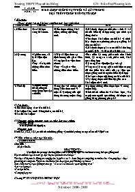 Giáo án Sinh học 12 - Tiết 19, Bài 18: Chọn g