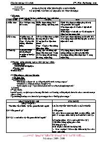 Giáo án Sinh học 12 - Tiết 23, Bài 22: Bảo vệ