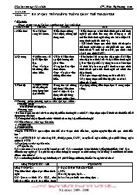 Giáo án Sinh học 12 - Tiết 29, Bài 27: Quá tr