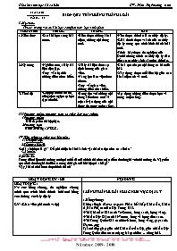 Giáo án Sinh học 12 - Tiết 31, Bài 29: Quá tr