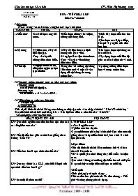 Giáo án Sinh học 12 - Tiết 33, Bài 31: Tiến h