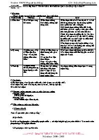 Giáo án Sinh học 12 - Tiết 35, Bài 33: Sự phá