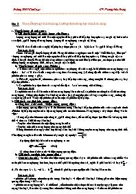 Giáo án Vật lý 12 - Bài 2: Thuyết lượng tử án