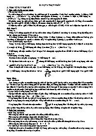 Lý thuyết Vật lý 12 - Chương 9: Vật lý hạt nh