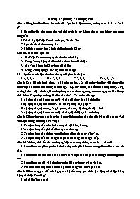Chuyên đề Lịch sử 12: Phong trào dân tộc, dân chủ (1919-1930) - Mức độ 3: Vận dụng, Vận dụng cao