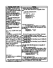Giáo án Hóa học Lớp 12 - Bài: Liên kết cộng h