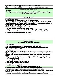 Giáo án Ngữ văn 12 - Tiết 2+3: Sức sống con n