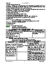 Giáo án Ngữ văn Khối 12 - Tiết 23+30: Luật th