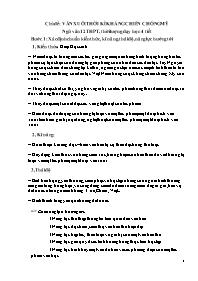 Giáo án Ngữ văn Lớp 12 - Chủ đề: Văn xuôi t