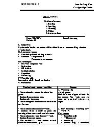Giáo án Tiếng Anh Lớp 12 - Unit 11: Books - P